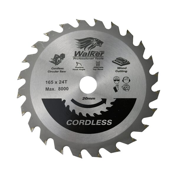 Saw Blades for Cutting Wood with a Cordless Machine
